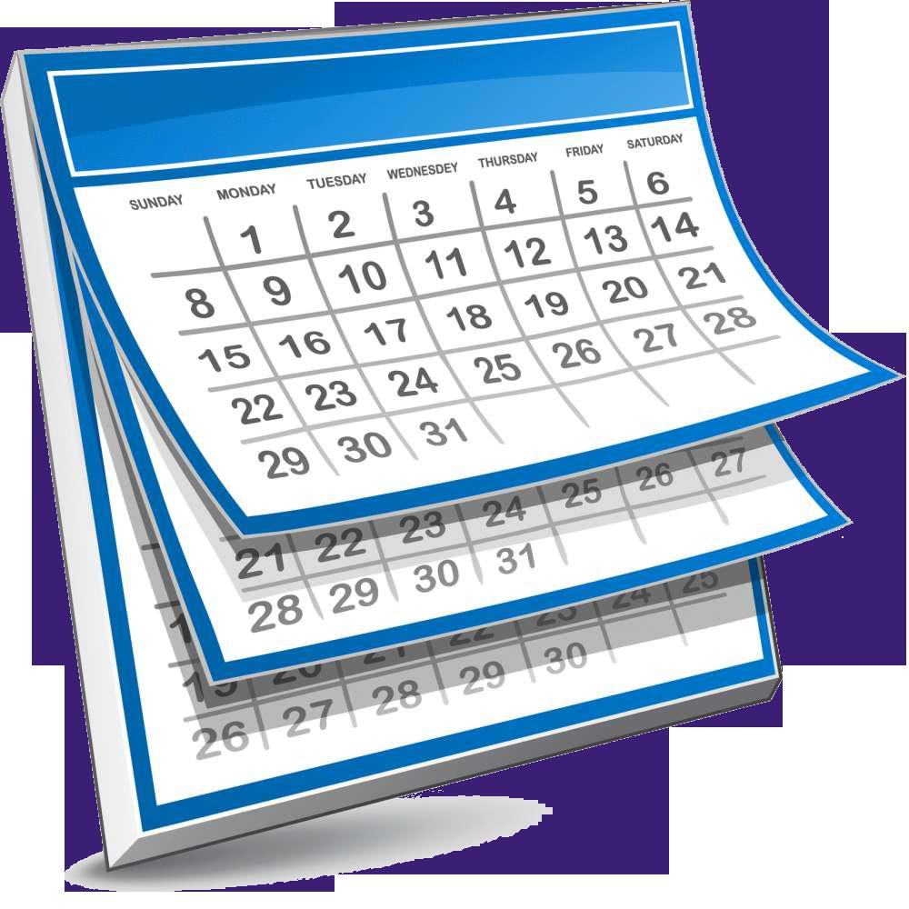 calendar-clipart-clipart-cliparts-for-you-clipart-calendar-1000_1000 -  TutorASAP