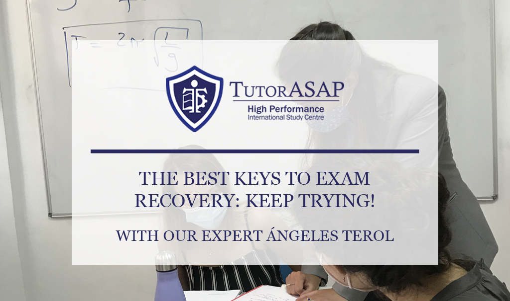 THE BEST KEYS TO EXAM RECOVERY: KEEP TRYING!